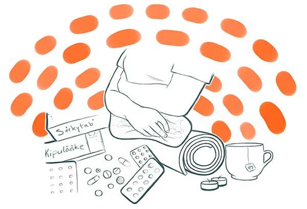 endometrioosi hoito