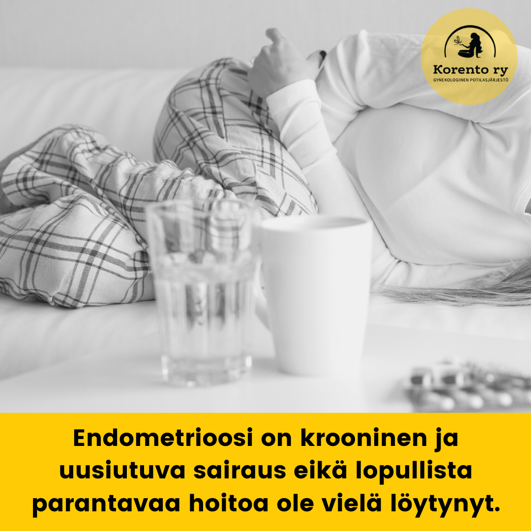 Endometrioosi on krooninen